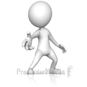 ID# 14051 - Reaching Out with Helpful Hand - Presentation Clipart