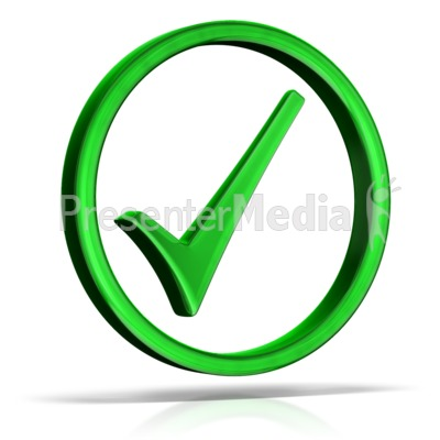 Check Mark Circle PowerPoint Clip Art