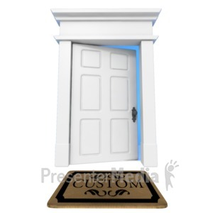 ID# 14183 - Custom Welcome Mat - Presentation Clipart