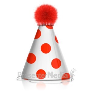 ID# 14194 - Party Hat - Presentation Clipart