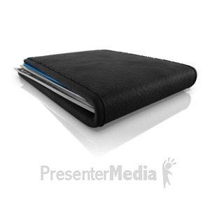 ID# 14368 - Wallet - Presentation Clipart