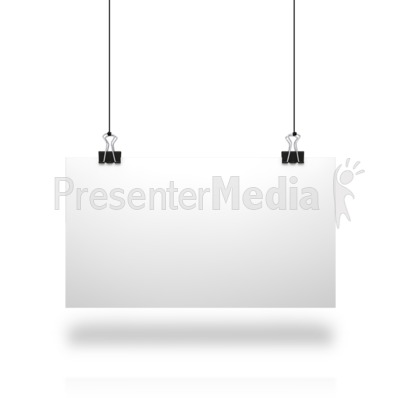 White Board String PowerPoint Clip Art