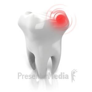 ID# 14445 - Tooth Pain Ache - Presentation Clipart
