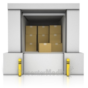 ID# 14741 - Loading Dock Boxes - Presentation Clipart