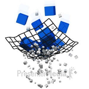 ID# 14854 - Catching the Bigger Things - Presentation Clipart
