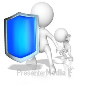 ID# 15025 - Protecting Your Young - Presentation Clipart