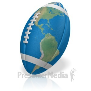 ID# 15081 - Football World - Presentation Clipart