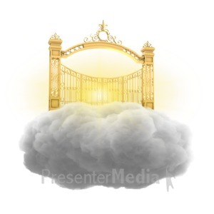 ID# 15294 - Heavenly Gate - Presentation Clipart