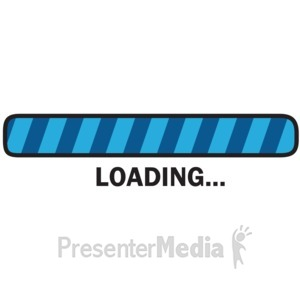 ID# 15708 - Wait Loading Bar - Presentation Clipart