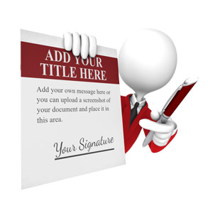 ID# 16045 - Custom Contract - Presentation Clipart