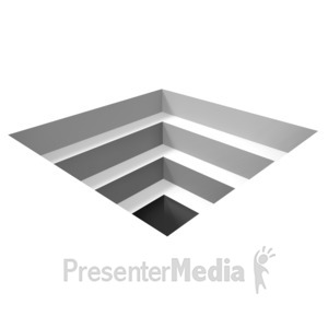 ID# 16404 - Square Hole Illusion - Presentation Clipart