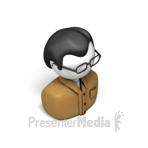 ID# 17558 - Casual Worker - Presentation Clipart