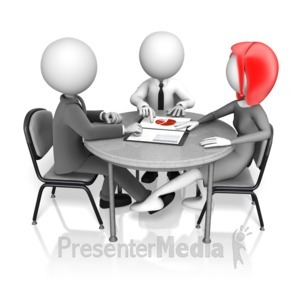 ID# 17803 - Secret Work Romance - Presentation Clipart