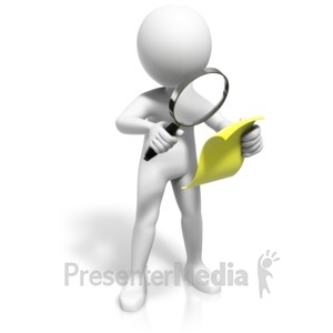 ID# 17900 - Inspect This Page - Presentation Clipart