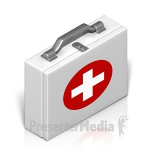 ID# 18624 - Medical Case Isometric - Presentation Clipart