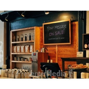 ID# 18688 - Coffee Shop Sign - Presentation Clipart