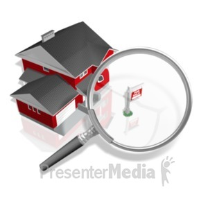 ID# 18940 - House For Sale Search - Presentation Clipart