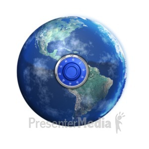 ID# 19116 - Keep the Earth Safe - Presentation Clipart