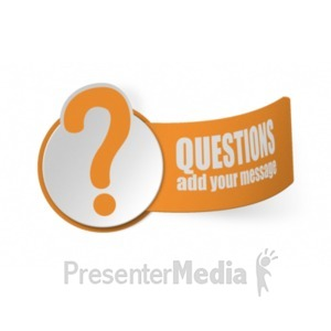 ID# 19357 - Paper Question Mark - Presentation Clipart