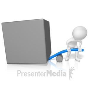 ID# 19413 - Figure Physics Leverage Wrong - Presentation Clipart