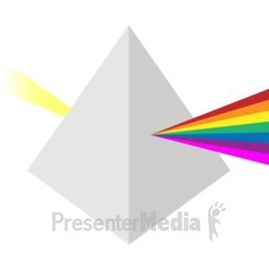 ID# 19434 - Prism - Presentation Clipart