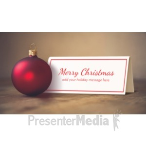 ID# 19595 - Ornament Sign - Presentation Clipart