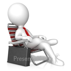ID# 19688 - Business Relaxation - Presentation Clipart