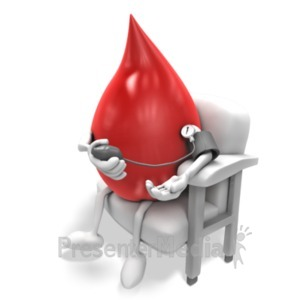 ID# 19835 - Blood Taking Pressure - Presentation Clipart
