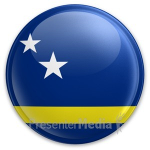 ID# 20028 - Badge of Curacao - Presentation Clipart