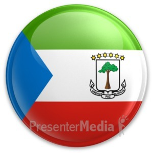 ID# 20077 - Badge of Equatorial Guinea - Presentation Clipart
