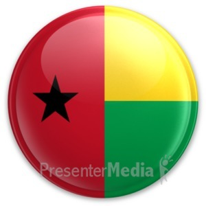 ID# 20088 - Badge of Guinea-Bissau - Presentation Clipart