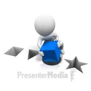 ID# 20732 - Its The Wrong Shape - Presentation Clipart