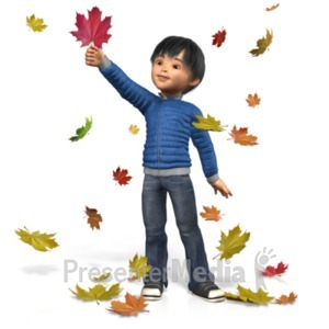 ID# 21118 - Autumn James Play - Presentation Clipart