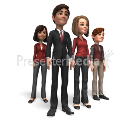 Business People Team PowerPoint Clip Art