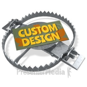 ID# 21861 - Beartrap Custom - Presentation Clipart