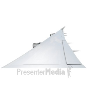 ID# 21865 - Airplane Wing - Presentation Clipart