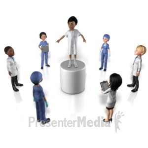 ID# 22142 - Patient Driven - Presentation Clipart