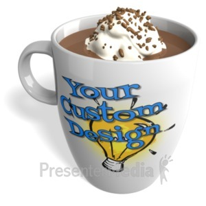 ID# 22211 - Hot Chocolate Custom - Presentation Clipart