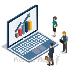 ID# 22399 - Computer People Logic - Presentation Clipart