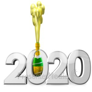 ID# 22942 - Champagne Celebration Custom - Presentation Clipart