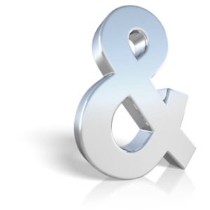 An ampersand PowerPoint punctuation ClipArt symbol graphic
