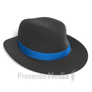 Stock Illustration - The person wearing many hats has a lot of different  responsibilities. Clipart gg60088785 - GoGraph