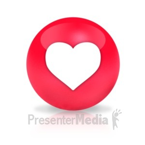 ID# 23568 - Sphere Love - Presentation Clipart