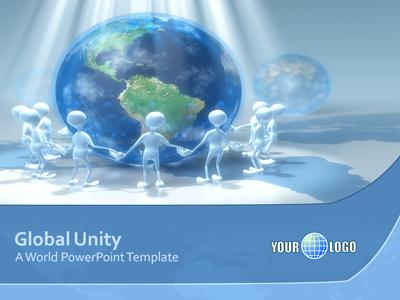 ID# 305 - Global Unity - PowerPoint Template