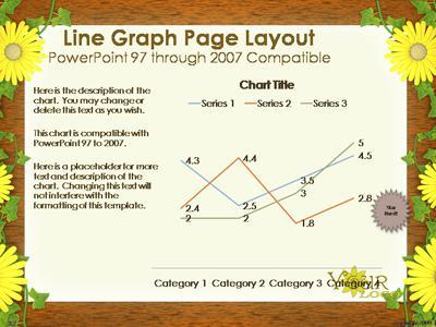 Flowery Frame - A PowerPoint Template from PresenterMedia.com