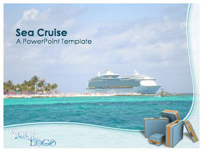 ID# 333 - Sea Cruise - PowerPoint Template
