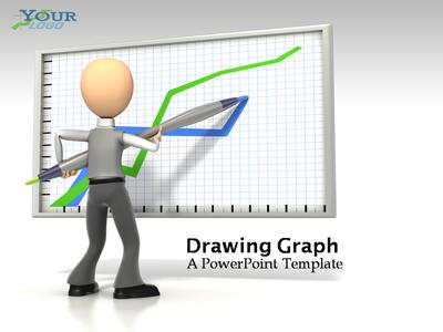 ID# 337 - Drawing Graph - PowerPoint Template