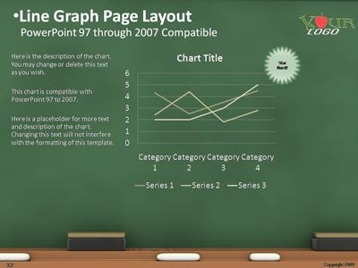 The chalkboard a powerpoint template from presentermedia toneelgroepblik Images