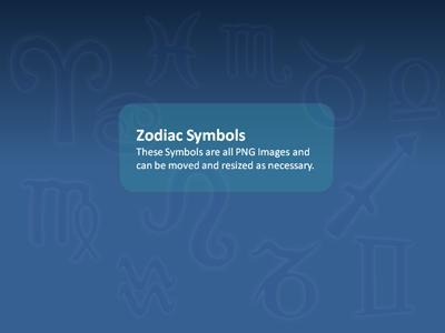 Zodiac stars a powerpoint template from presentermedia toneelgroepblik Choice Image
