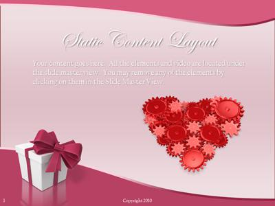 Valentine hearts a powerpoint template from presentermedia toneelgroepblik Image collections